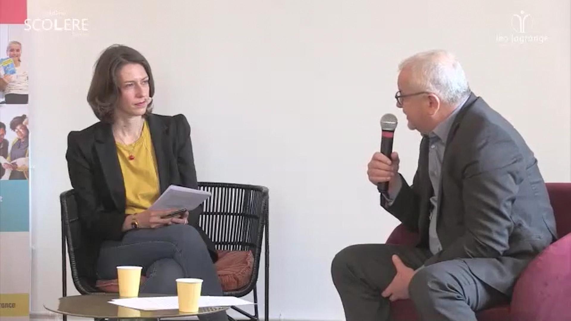 Conférence de presse Carbone Scol'ERE France2